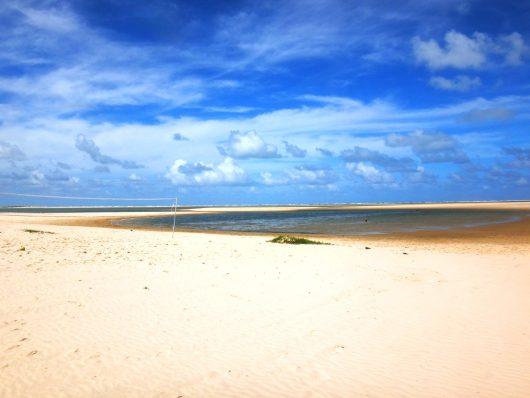 Ilha dos namorados deserta - Aracaju - SE