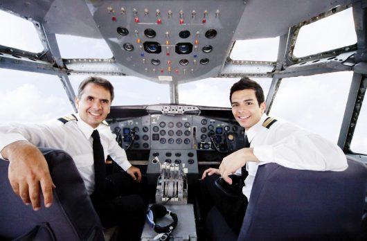 Profissão piloto de avião
