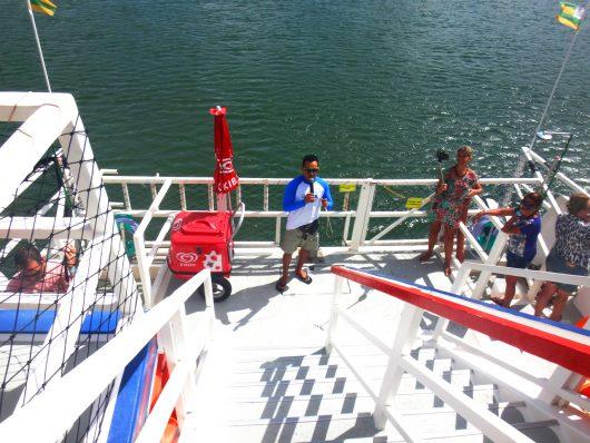 Tripulação no catamarã - Aracaju - SE