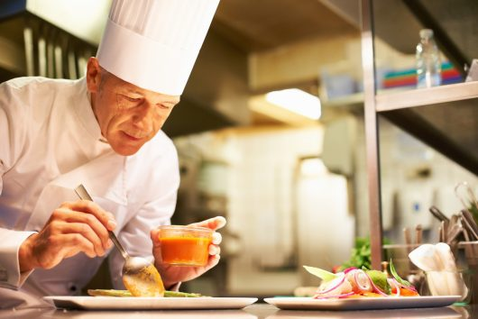 Profissão chef de cozinha