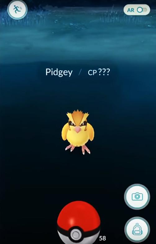 Pokémon GO - Captura de Pokémons