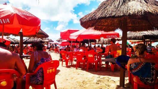 Restaurante Mar e Cia - Praia de Paripueira - Maceió - AL