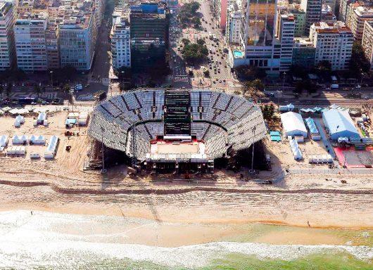 Arena de Copacabana - Olimpíadas 2016