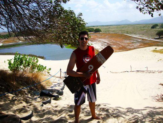 Esquibunda em Cumbuco