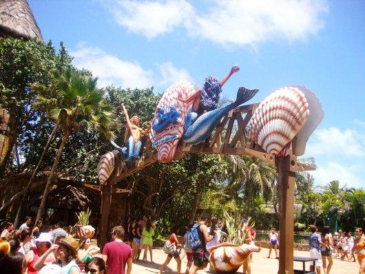 Entrada Beach Park em Fortaleza