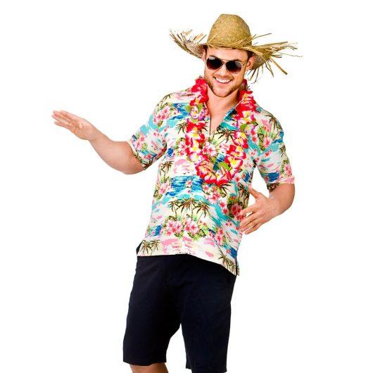 Camisa floral - Moda masculina - Que roupas levar para Cancún