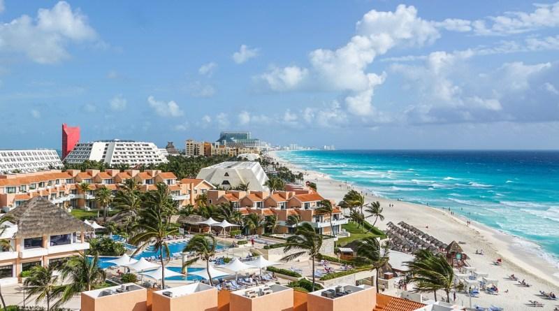 Vista de Cancún - México