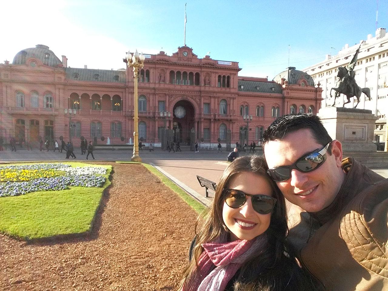 Casa Rosada em Buenos Aires  A sede do governo argentino
