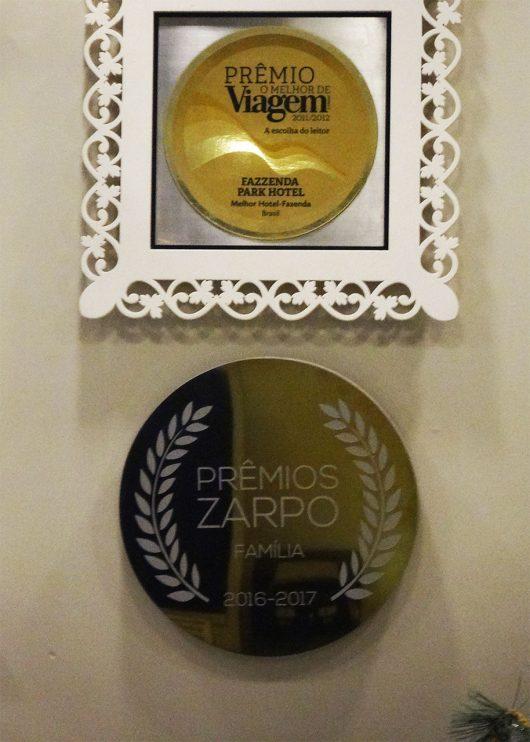 Prêmios do Fazzenda Park Hotel