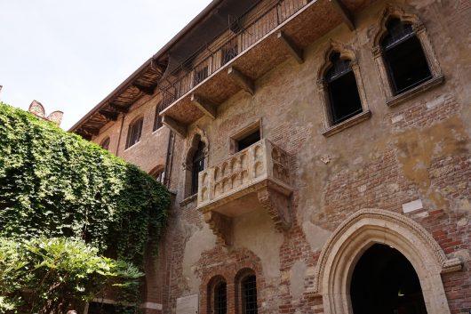 Sacada de Julieta em Verona na Itália