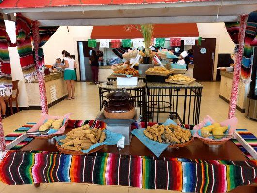Café da manhã do Royal Solaris Cancun