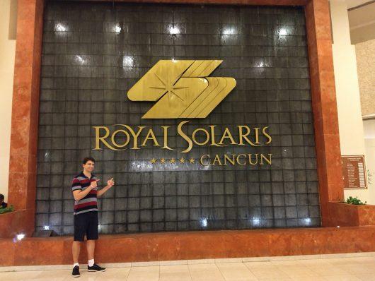 Frente do Royal Solaris Cancun