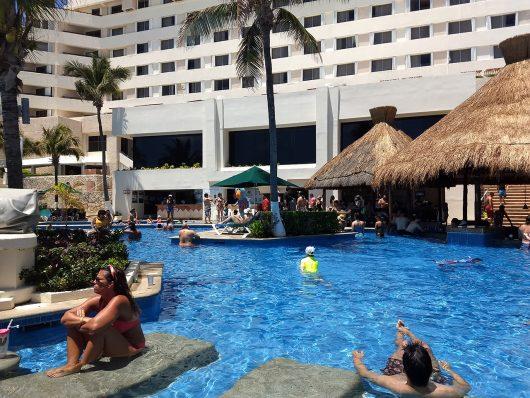 Piscinas do Royal Solaris Cancun