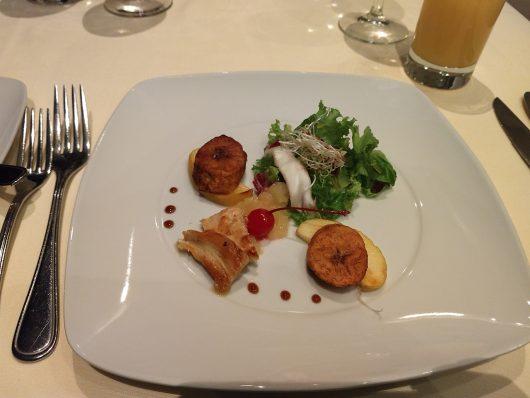 Pratos do restaurante do Royal Solaris Cancun