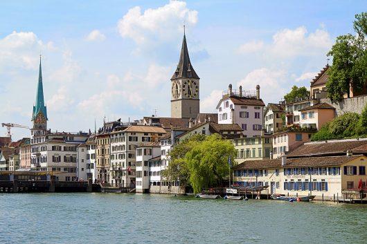 Viagem para Zurique na Suíça
