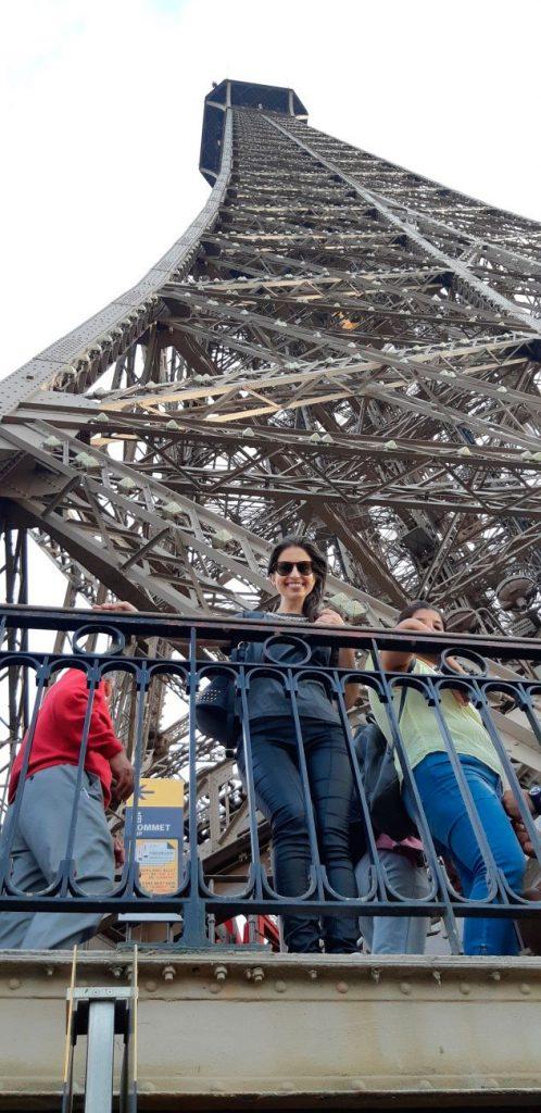 Segundo andar da Torre Eiffel