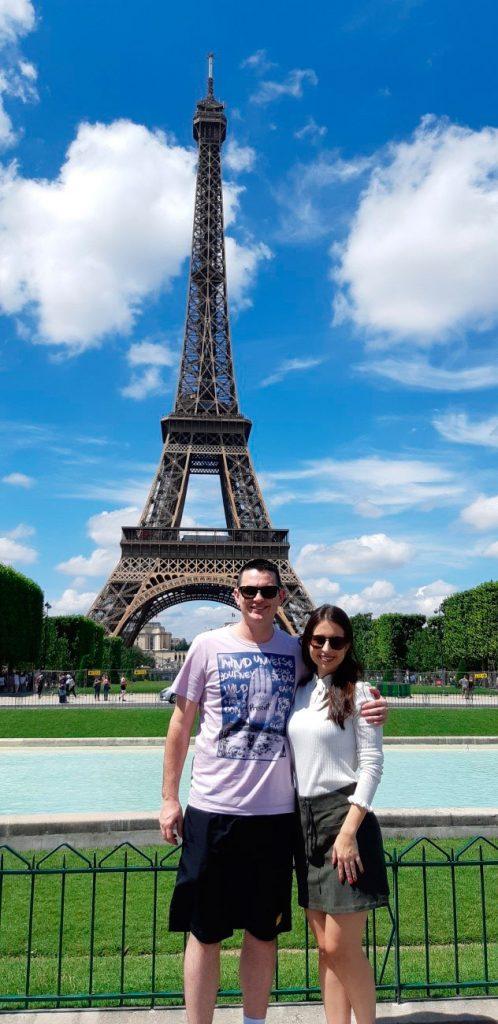 Torre Eiffel - Viagem a Paris