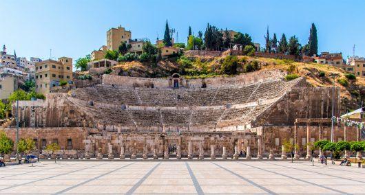 Roman Theater - Amman - Jordânia