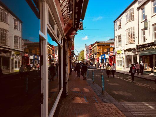 Mercado de rua em Cork