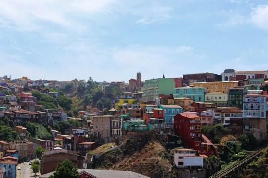 Férias de julho em Valparaíso