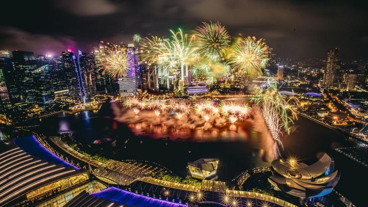 Réveillon Singapura 2020