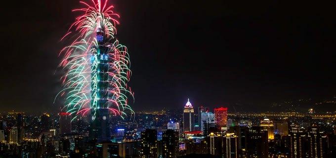 Réveillon Taiwan 2020