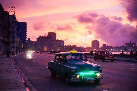 Viagem para Havana em Cuba