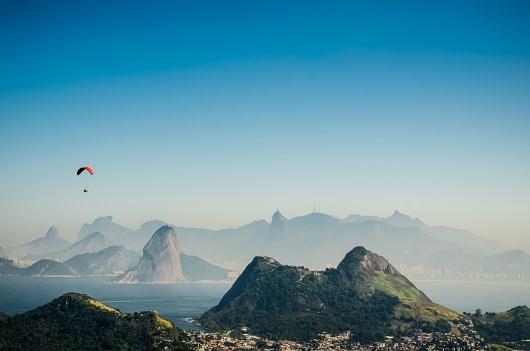 A natureza do Rio de Janeiro é linda