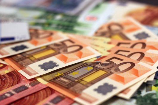 Euro é a principal moeda da União Europeia