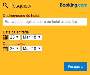 Reserva de hotéis Booking.com