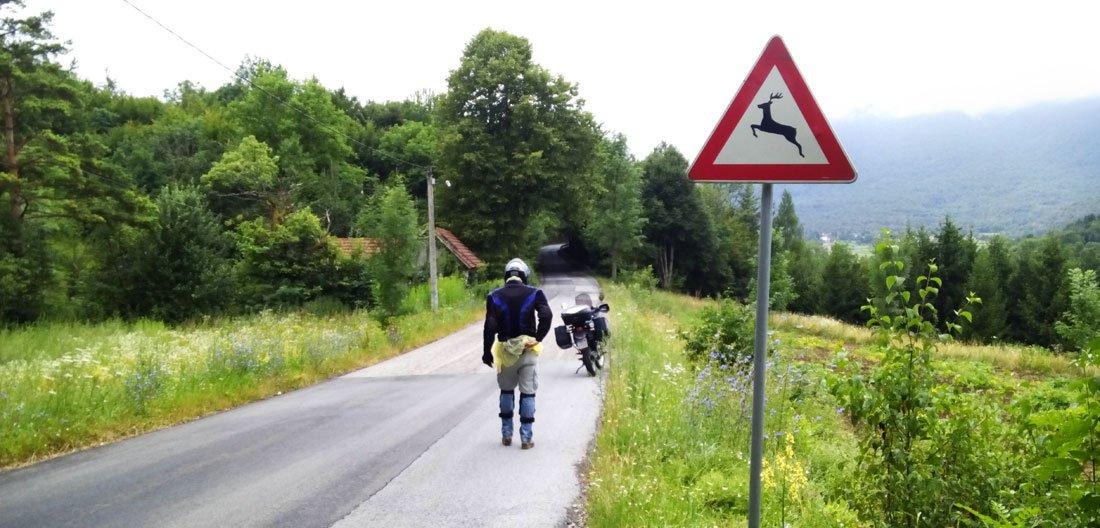 Bosnia en moto