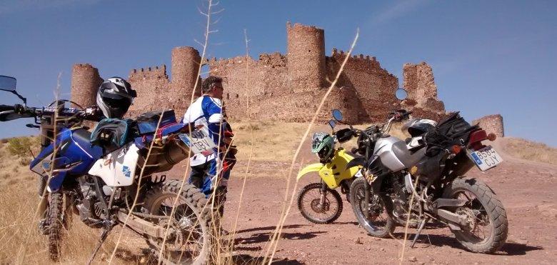 Moto Trail y Castillos en Toledo