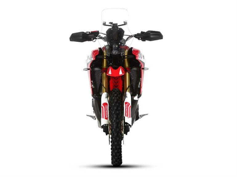 Honda Africa Twin Rally frontal