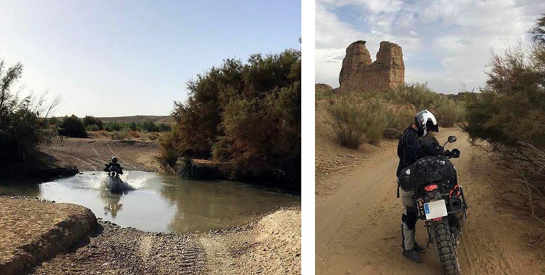 Trail en el desierto de Gorafe, Granada