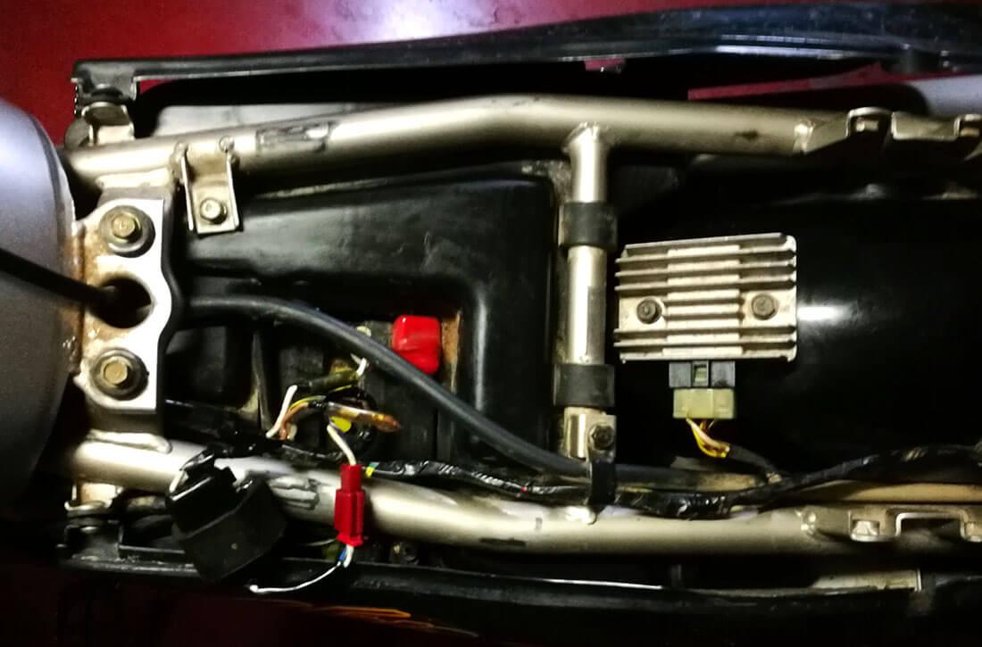 klr fallo eléctrico batería