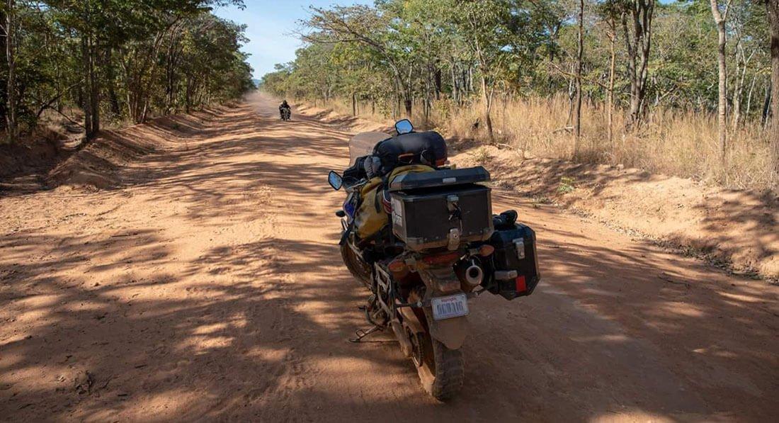 V Strom 650 en Tanzania