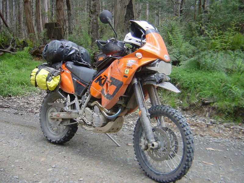 Moto KTM 640 Adventure
