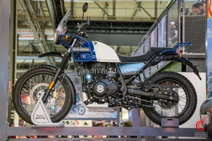 Royal Enfield Himalayan 2020 Lake Blue