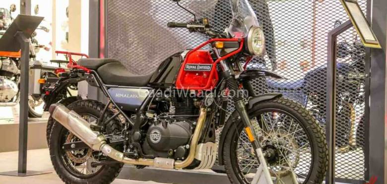 Royal Enfield Himalayan 2020 Rock Red