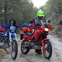 Moto trail en Gredos ¡cuidado con los tracks!