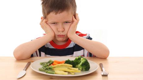 Mi hijo es jodido para comer