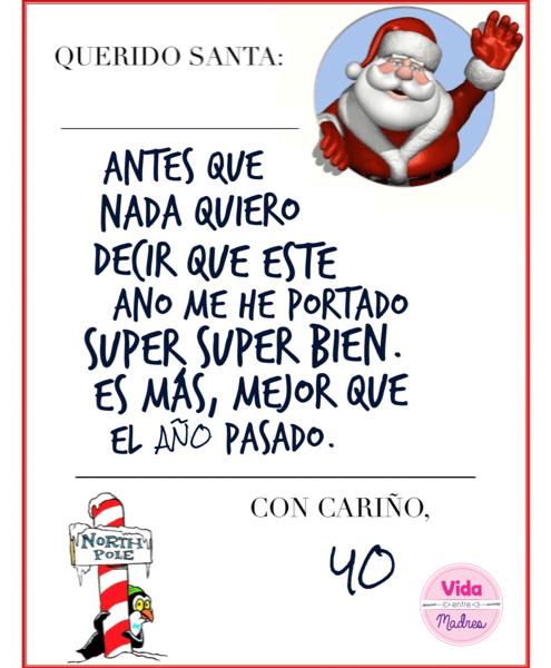 Querido Santa…