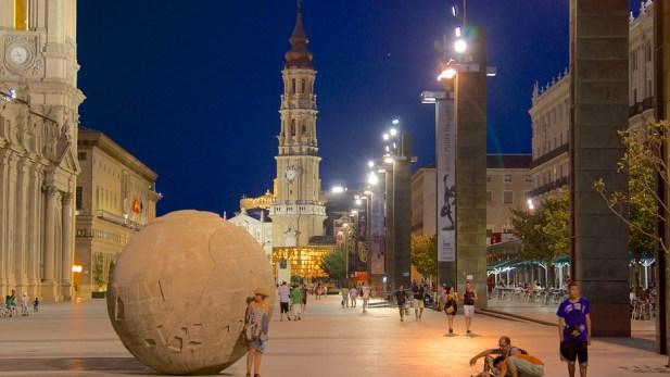 Город Сарагоса, Місто Сарагоса