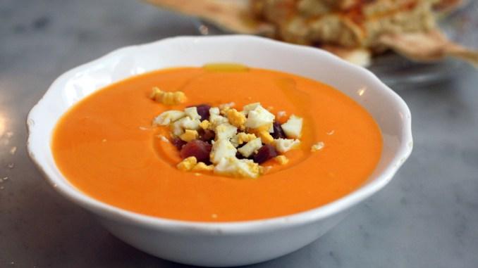 Іспанський суп Сальморехо -Salmorejo