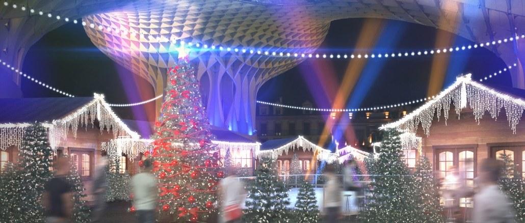 різдвяний тематичний парк в Севільї SetasNoche_planB-1-1