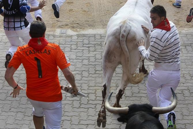 Убеги от быка Испания