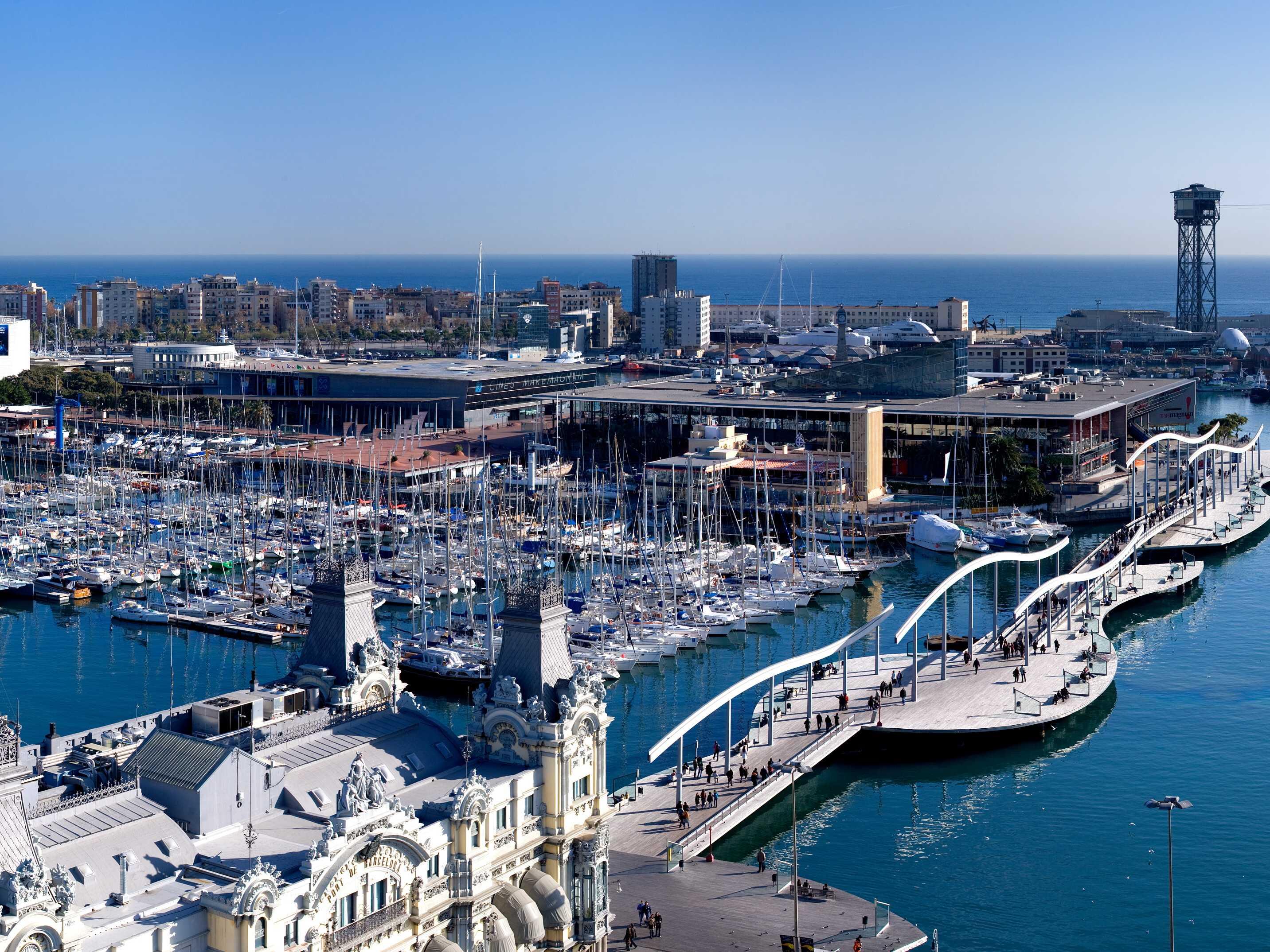 Барселона - порт