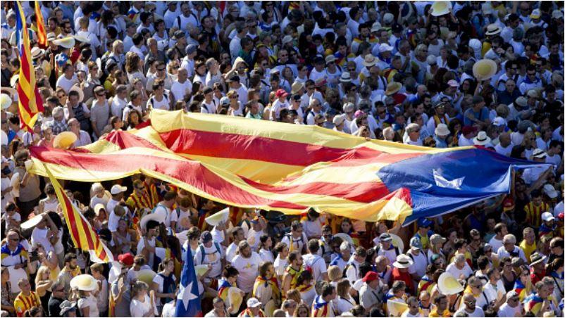 Творения Гауди агитировали за независимость Каталонии.