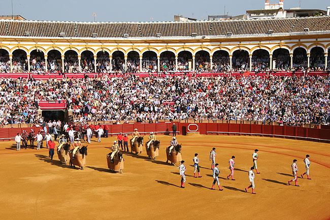 Арена для корриды - Севильськая ярмарка