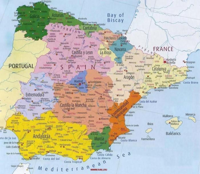 Karta-Ispanii-podrobnaya
